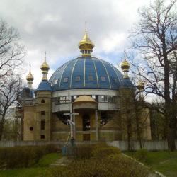Монтаж куполу церкви, м. Костопіль