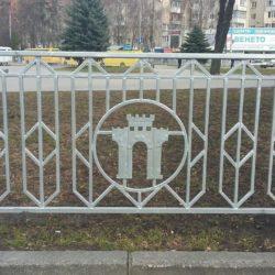 Встановлення металевих парканів по вулицях м. Рівне